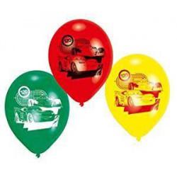 PACK DE 6 GLOBOS DISNEY CARS