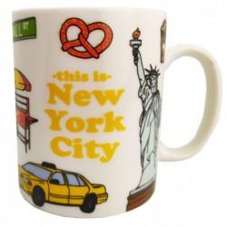 LOTE DE 8 TAZAS NYC...